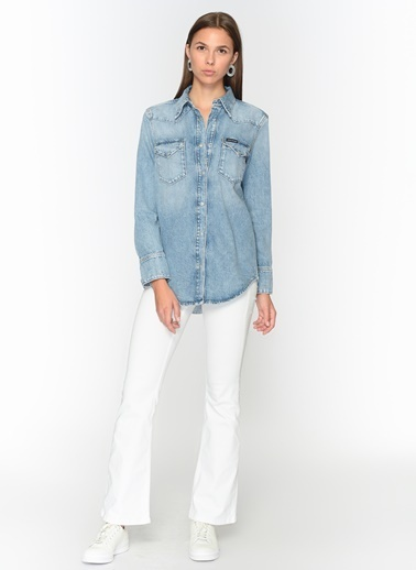 Calvin Klein Jean Ceket Mavi